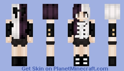 Boy Division of the Black Parade ~Resonance___ Minecraft Skin