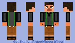 Jesse MCSM Mixed race Minecraft Skin