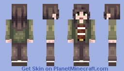 Find My Son, Hop! Minecraft Skin
