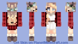 𝑬𝓶𝓶ọ𝓇𝒂𝒍  Cutest skin I've ever made? Minecraft Skin