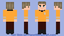 Captain Kirk-Star Trek Minecraft Skin