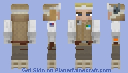 Luke Skywalker (Hoth) Minecraft Skin