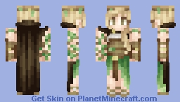 ♦ℜivanna16♦ Nature Mage Minecraft Skin