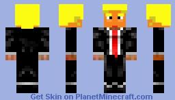 PEOTUS DJT Minecraft Skin