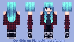super old skin because im too lazy to make another uvu Minecraft Skin