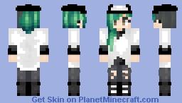Minecraft Oc's Akame- Pokemon N's Skin