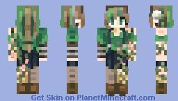 Vine // Pastel Snow's Contest Minecraft Skin