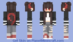 Over 666 followers~ Minecraft Skin