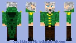 Aged General Minecraft Skin