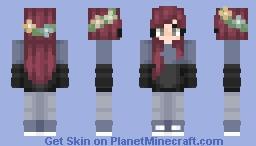 Flower Crown Minecraft Skin