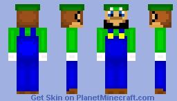 Luigi Minecraft Skin