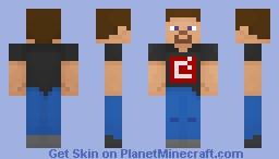 Developer Steve Minecraft Skin
