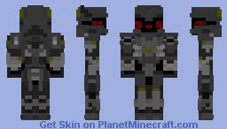 Mini Armored Core Minecraft Skin