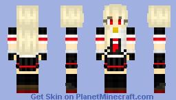 「Kantai Collection」 Yuudachi Kai Ni Minecraft Skin