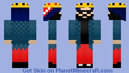 Big Russian Boss Minecraft Skin