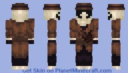 Rorschach - watch men Minecraft Skin