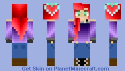 New skin, inspired by Rooster_demon Minecraft Skin