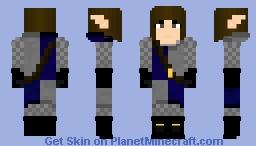 Daugwen Allndi, Sister of the Purebloods - The Story OC ~Ὠκεαν~ Minecraft