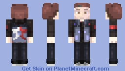 Delsin Rowe - InFamous: Second Son Minecraft Skin