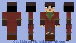 Piper Wright - FALLOUT 4 Minecraft Skin