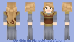 Eowyn's Gown (Do not use on LoTC) Minecraft Skin
