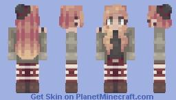 300 SUBS WHOA - st with gorve (popreel!!!) Minecraft Skin