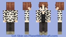 J-Hope (Jung Hoseok) ~ BTS -Blood Sweat And Tears Outfit- Minecraft Skin