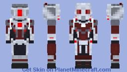 Ant man Minecraft Skin
