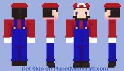 Mario ;Simple (Mario) Minecraft Skin