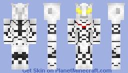 Ultraman Noa [Ultraman Nexus] Minecraft Skin