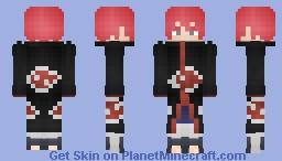 Sasori | Akatsuki Cloak (サソリ) Minecraft Skin
