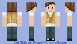 """Hey man, that is one snazzy vest"" Minecraft Skin"