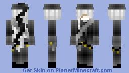 The Undertaker Black Butler Minecraft Skin