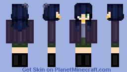 Mirage - =o first character in a possible smol book ~נєωєℓ Minecraft Skin