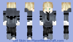 James Anthony Starr aka Memory - OC Minecraft Skin