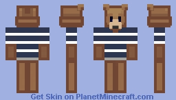 Cartoon Bear Minecraft Skin