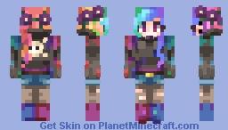 Light it Up Minecraft Skin