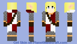 Ysolda Battle-Shield, Sister of the Snow - The Story OC ~Ὠκεαν~ Minecraft