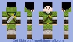 Zelda Socke Minecraft Skin