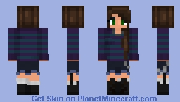"""Hah... My socks are Uneven"" - Random Skin #3 Minecraft Skin"
