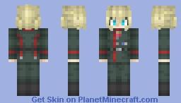 Tanya Degurechaff 「ターニャ・デグレチャフ」 Minecraft Skin