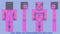 completely finished Minecraft Skin