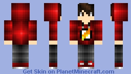 finally i make  a skin just for boys! Minecraft Skin