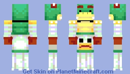 Bowser Jr. (Mario) Minecraft Skin
