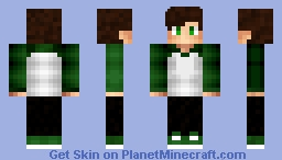 Cool Stan Boy Green (SidGamez) Minecraft Skin