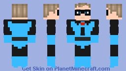 The Incredibles: Classic Mr Incredible Minecraft