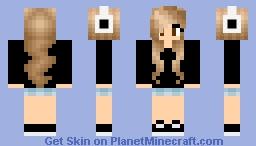 :) pretty! Minecraft Skin