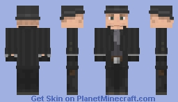 The Man In Black (WestWorld) (request from FT J) Minecraft Skin
