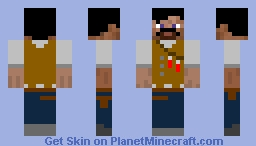 Dr.Edward Richtofen from Call of Duty Black Ops 3 Minecraft