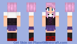 """""""Running to another day, I wanna break away and take the leap!"""" Minecraft Skin"""